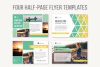 001 Half Page Flyer Template Free Formidable Ideas ~ Thealmanac in Half Page Brochure Template