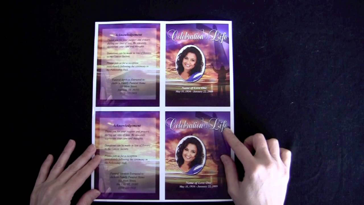 003 Funeral Memorial Cards With Regard To For Template Free With Memorial Cards For Funeral Template Free