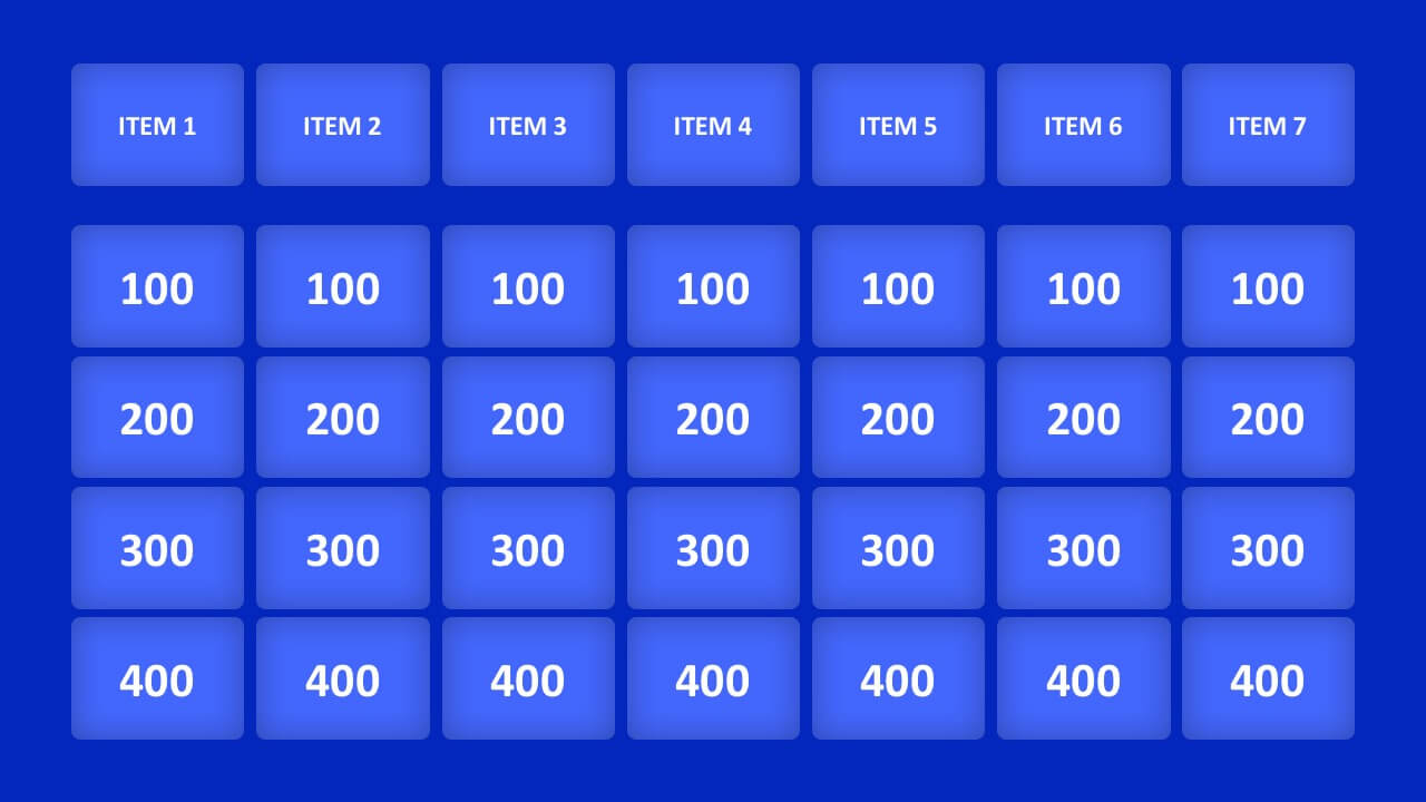 006 Jeopardy Powerpoint Template With Score Ideas 16X9 With Jeopardy Powerpoint Template With Score