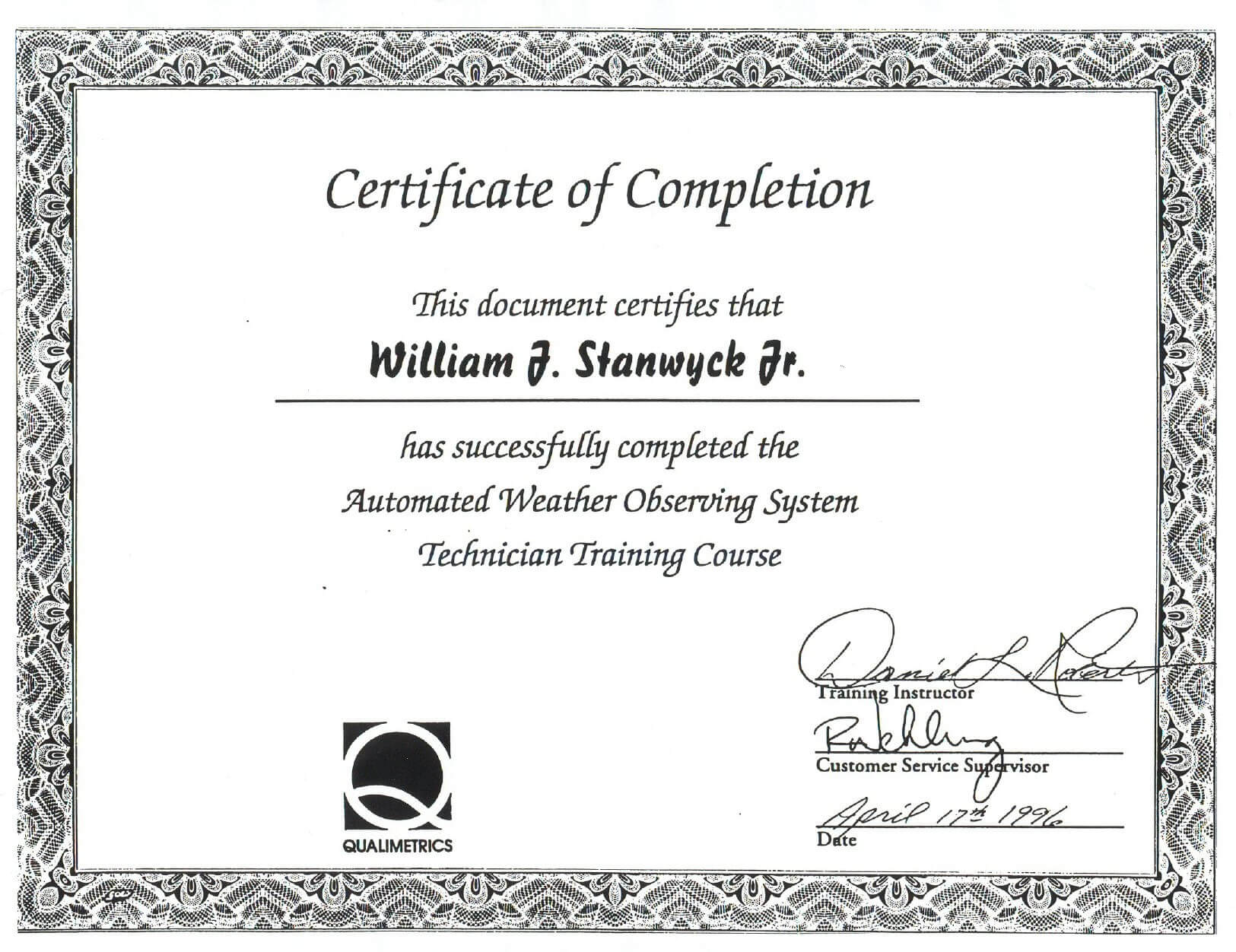 016 Template Ideas Safety Training Certificate Free Inside This Certificate Entitles The Bearer To Template