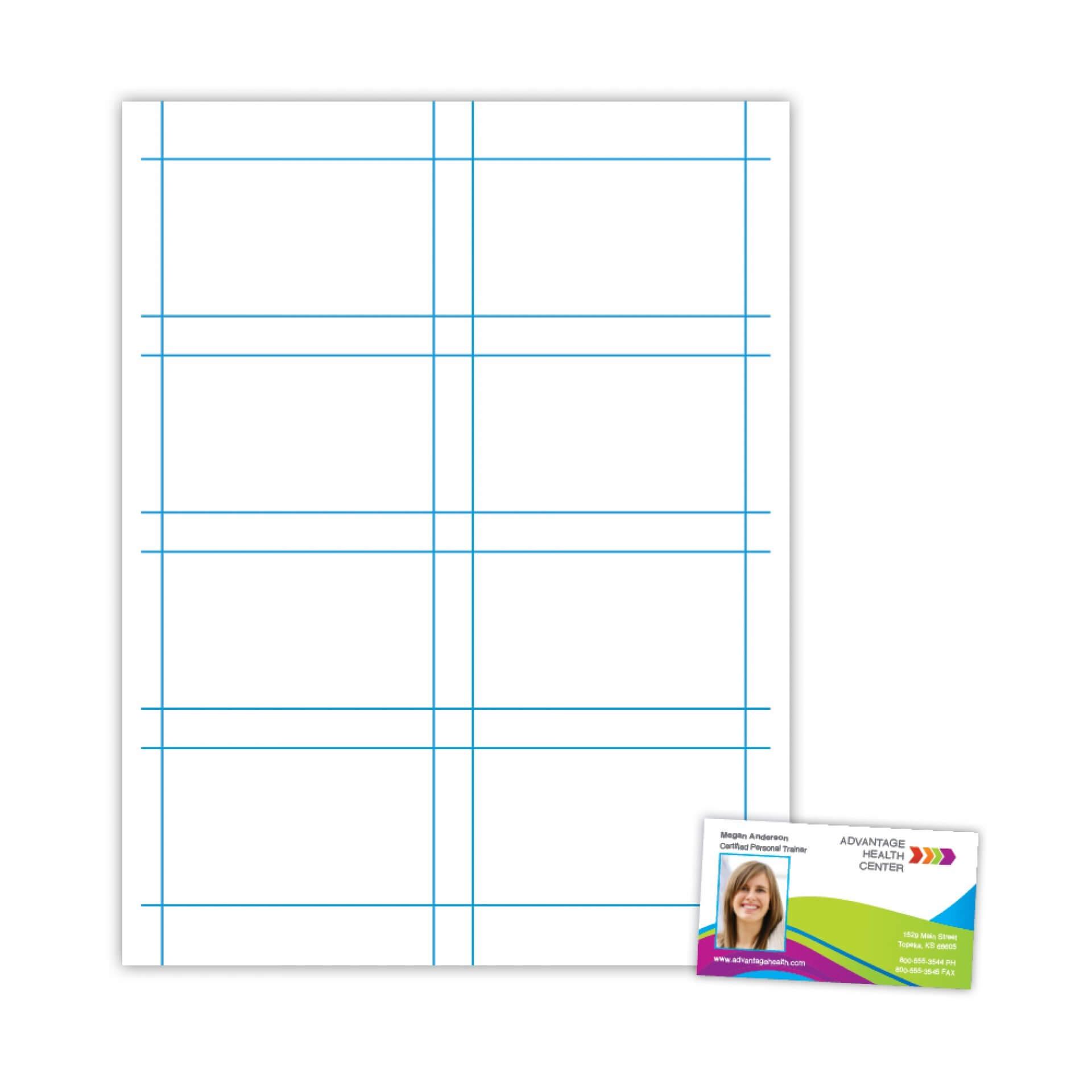 025 Plain Business Card Template Blank Microsoft Word Free For Plain Business Card Template Microsoft Word