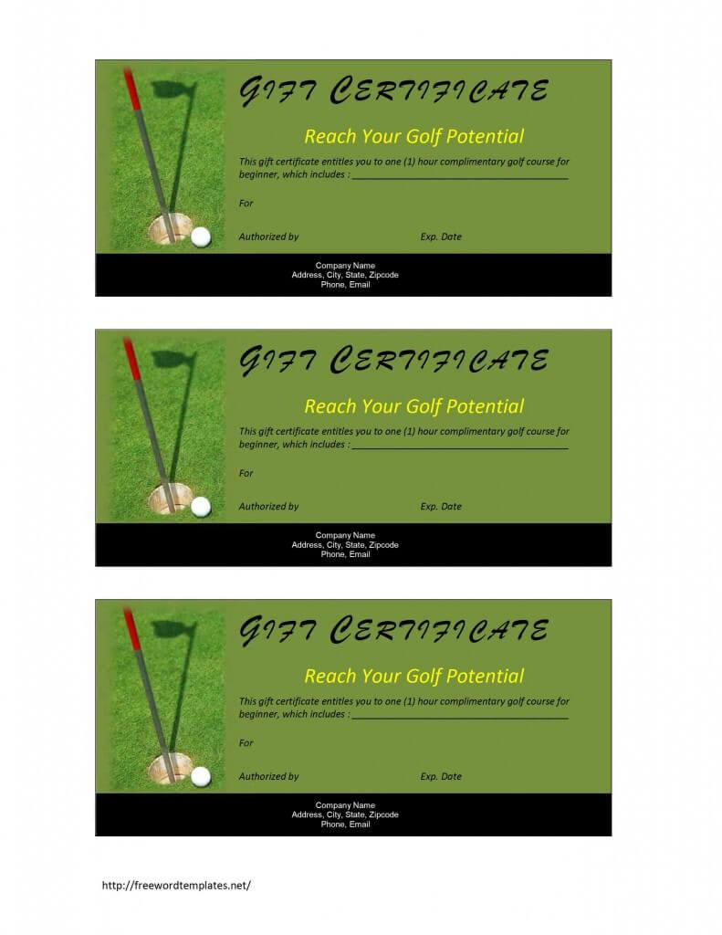 28+ [ Golf Certificate Template ] | Golf Certificate Inside Golf Certificate Templates For Word