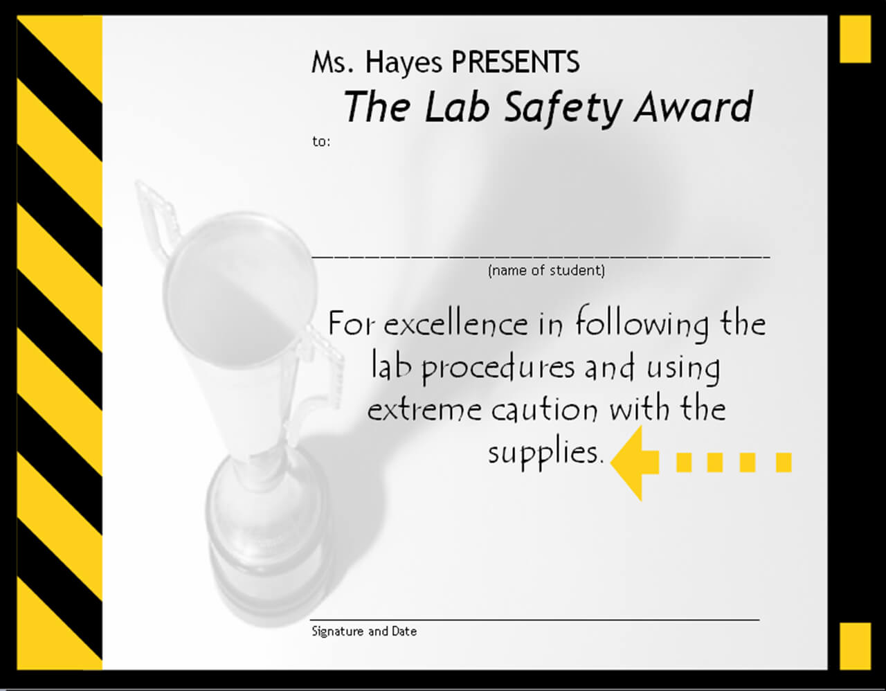 28 Images Of Shrink And Safety Award Template Free | Migapps Inside Safety Recognition Certificate Template