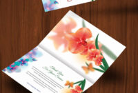 30+ Personalized Thank You Cards – Free Printable Psd, Eps throughout Card Folding Templates Free