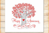 8+ Happy Anniversary Templates Free | Plastic Mouldings In with Word Anniversary Card Template