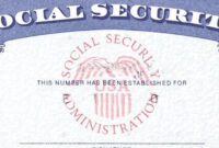9 Psd Social Security Cards Printable Images - Social with regard to Fake Social Security Card Template Download