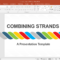 Animated Combining Strands Powerpoint Template With Replace Powerpoint Template