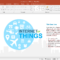 Animated Internet Of Things Template For Powerpoint With Microsoft Office Powerpoint Background Templates