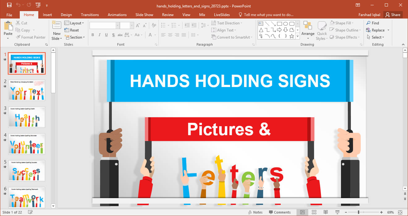 Animated Signboards Powerpoint Template For Powerpoint Replace Template