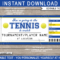 Any Occasion Tennis Gift Tickets pertaining to Tennis Gift Certificate Template