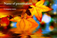 Autumn Powerpoint Template | Powerpoint Presentation with regard to Free Fall Powerpoint Templates