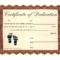 Baby Dedication Ceremony Certificate | Printable Certificate for Baby Dedication Certificate Template
