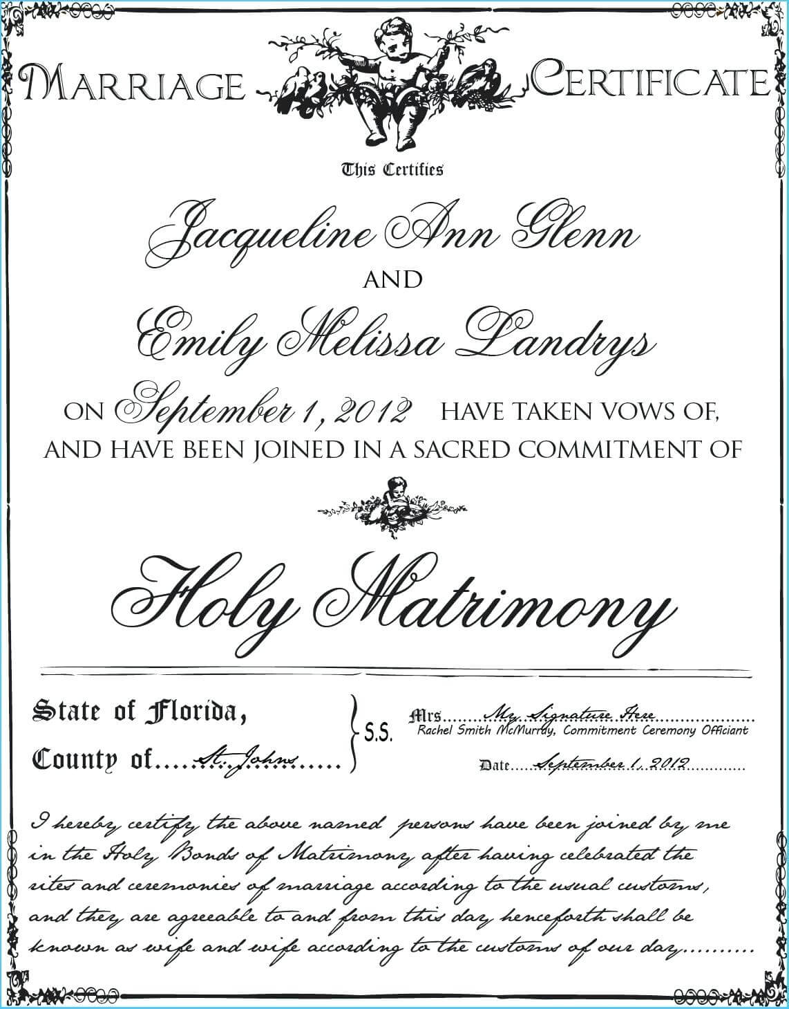 Blank Marriage Certificate Template – Uppage.co Intended For Blank Marriage Certificate Template