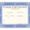 Blank Stock Certificate Template | Printable Stock throughout Blank Share Certificate Template Free