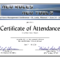 Certificate Of Attendance Conference Template ] - Of for Conference Certificate Of Attendance Template