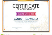 Certificate Template,diploma Layout,a4 Size Stock Vector in Certificate Template Size