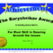 Certificates Fun Certificate From Funny Employee He Bar Pertaining To Funny Certificates For Employees Templates