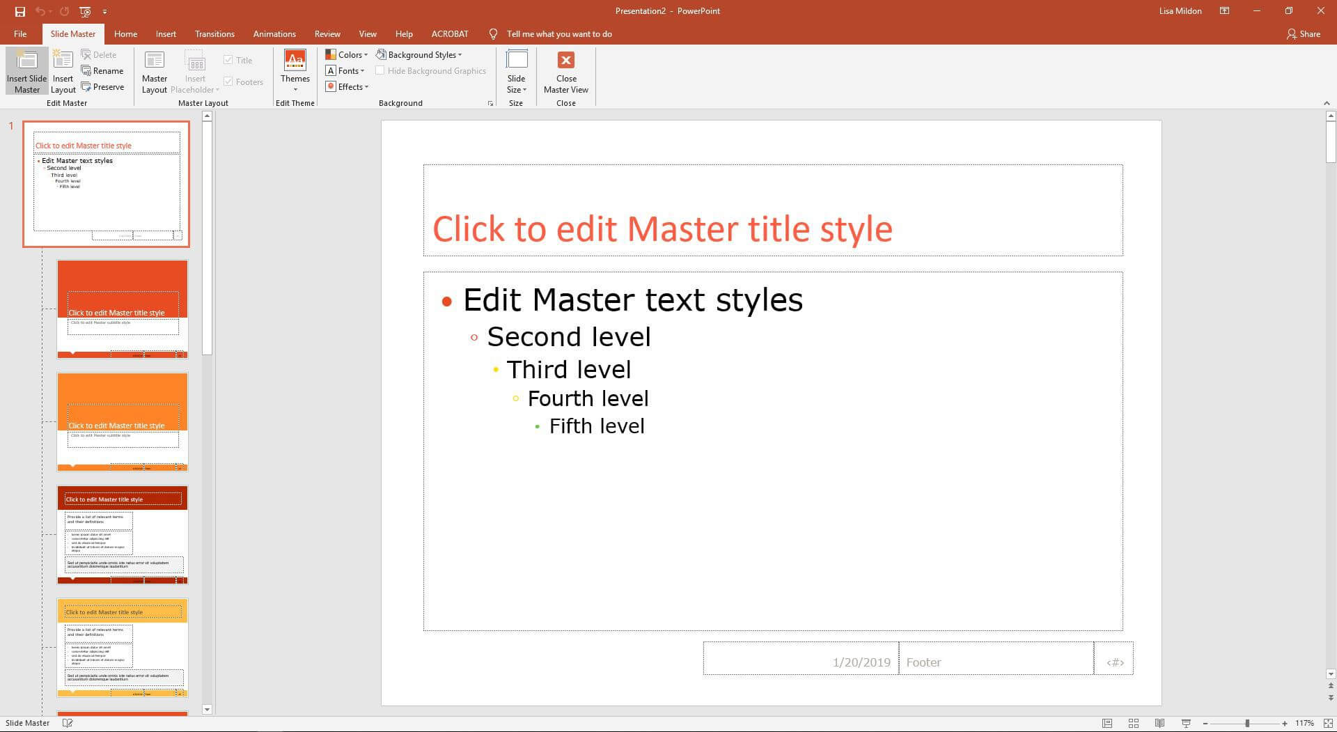 Change The Default Font In Powerpoint Text Boxes With Regard To Powerpoint Default Template