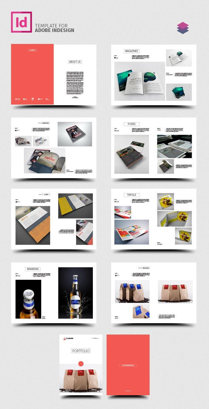 Clean Product Catalog | Product Catalog Template, Catalog Pertaining To Product Brochure Template Free