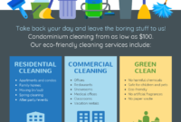 Cleaning Service Flyer | Commercial Cleaning Services inside Commercial Cleaning Brochure Templates