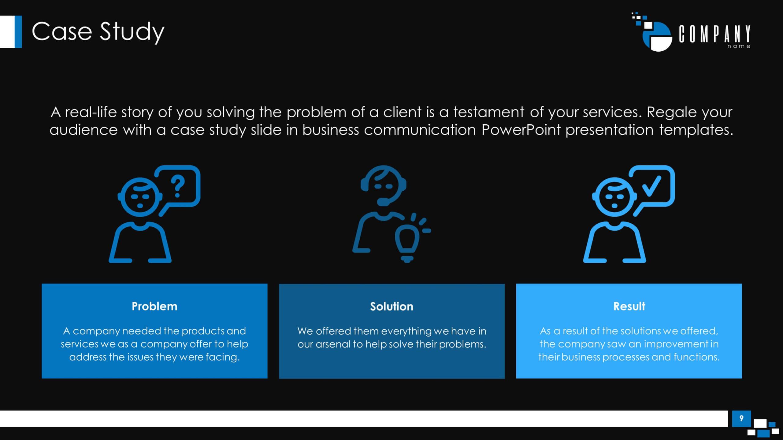 Communications Plan Premium Powerpoint Template - Slidestore Pertaining To Powerpoint Templates For Communication Presentation
