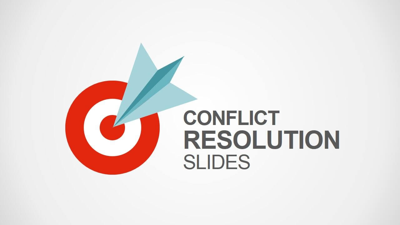 Conflict Resolution Powerpoint Template | Conflict For Powerpoint Template Resolution