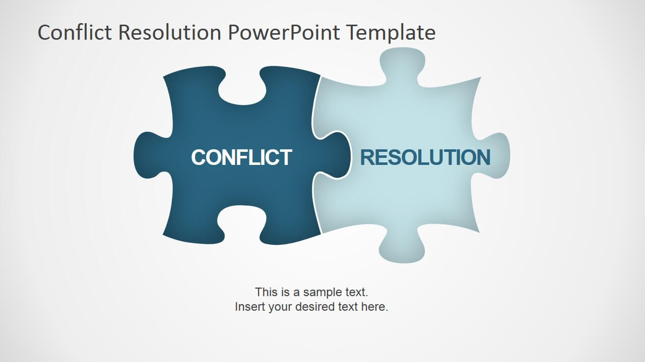 Conflict Resolution Powerpoint Template – Slidemodel With Regard To Powerpoint Template Resolution