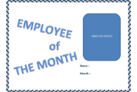 Employee Of The Month Certificate Template | Templates At With Regard To Employee Of The Month Certificate Template With Picture