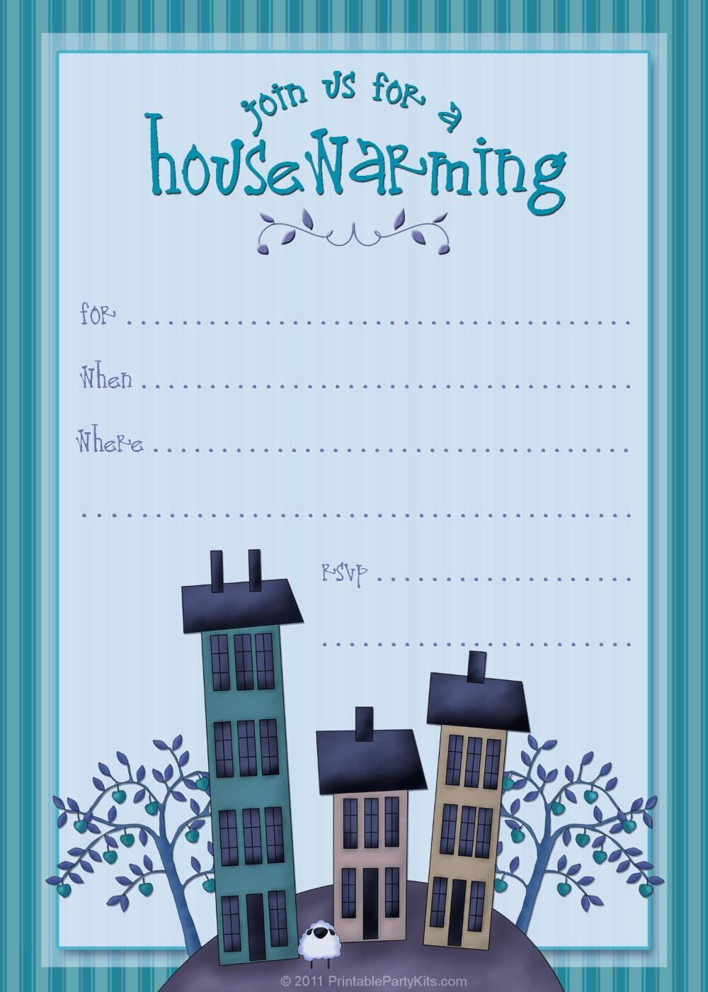 Free Housewarming Invitation Templates Template Awesome In Free Housewarming Invitation Card Template