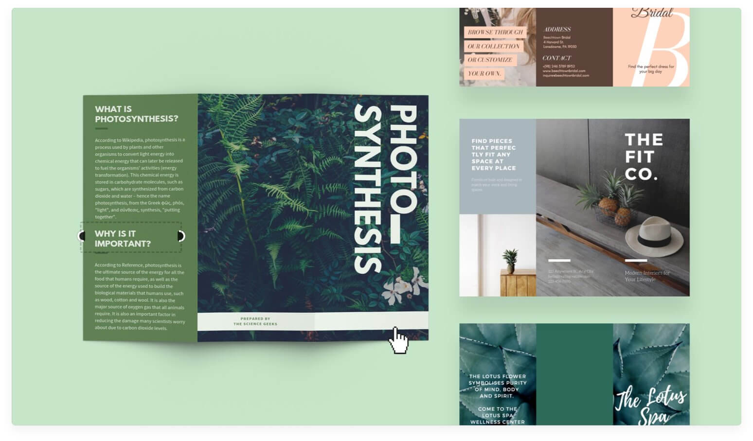 Free Online Brochure Maker: Design A Custom Brochure In Canva In Product Brochure Template Free