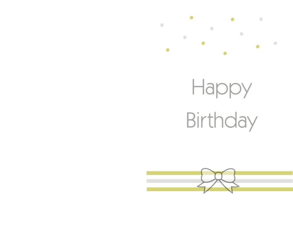 Free Printable Birthday Cards Ideas – Greeting Card Template Within Mom Birthday Card Template