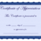 Free Printable Certificates Certificate Of Appreciation Inside Printable Certificate Of Recognition Templates Free