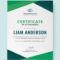 Free Program Attendance Certificate | Certificate Templates Pertaining To Indesign Certificate Template