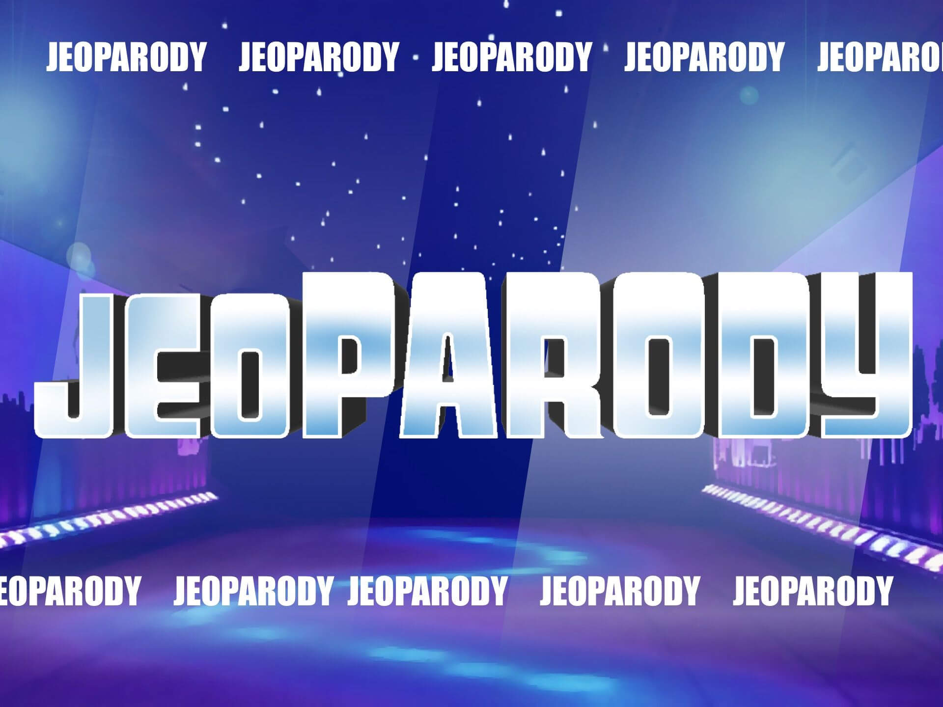 Fully Editable Jeopardy Powerpoint Template Game With Daily For Quiz Show Template Powerpoint