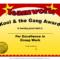 Fun Award Templatefree Employee Award Certificate Templates Within Fun Certificate Templates