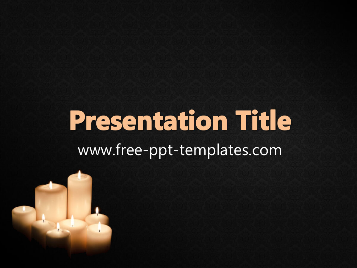 Funeral Ppt Template Throughout Funeral Powerpoint Templates