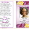 Funeral Programs Template Funeral Program Template Lwxvhbt With Regard To Memorial Cards For Funeral Template Free