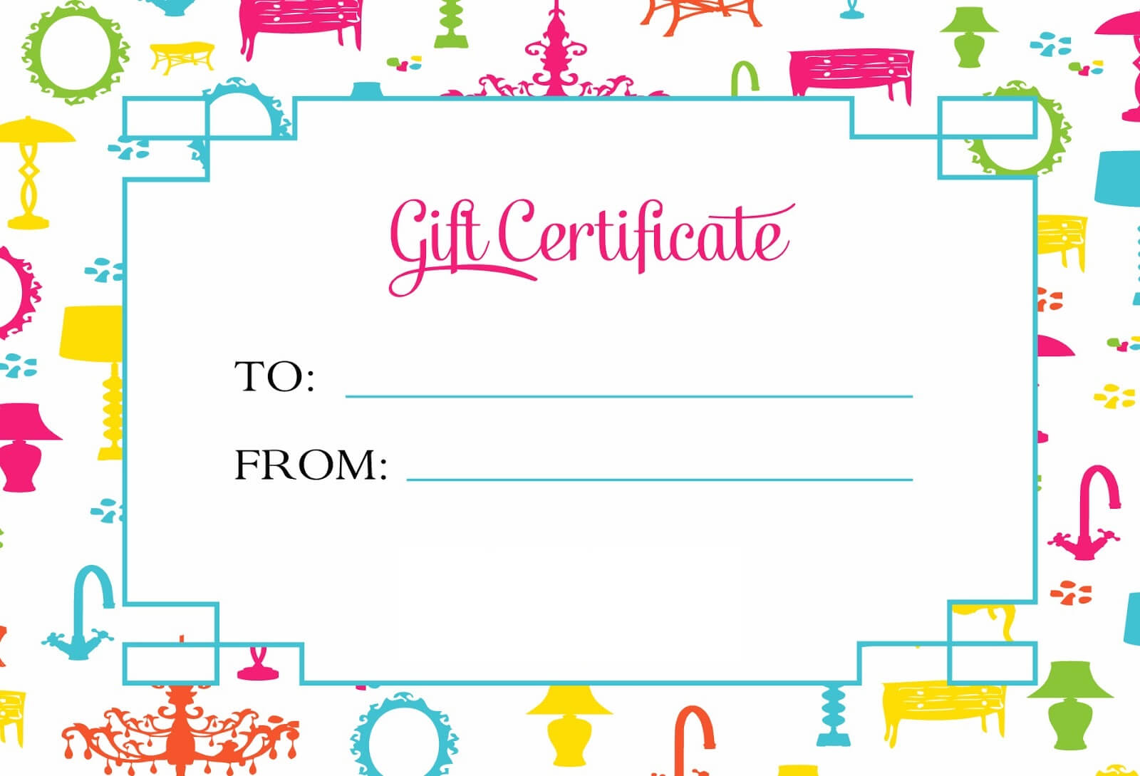 Gift Certificate Template For Kids Blanks   Loving Printable Throughout Kids Gift Certificate Template