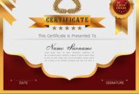 Graceful Certificate Template regarding Qualification Certificate Template