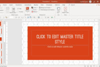 How To Create A Powerpoint Template (Step By Step) Pertaining To Powerpoint Replace Template