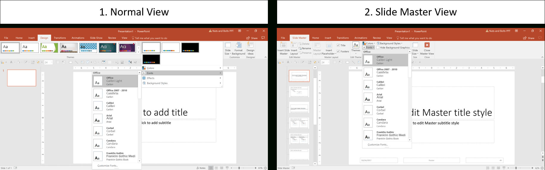 How To Create A Powerpoint Theme (Step By Step) Throughout Save Powerpoint Template As Theme