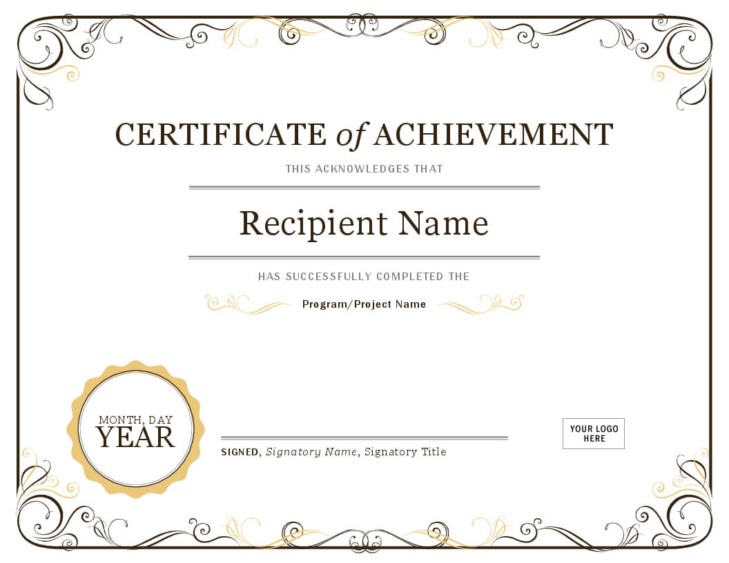 How To Create Awards Certificates – Awards Judging System Throughout Template For Certificate Of Award