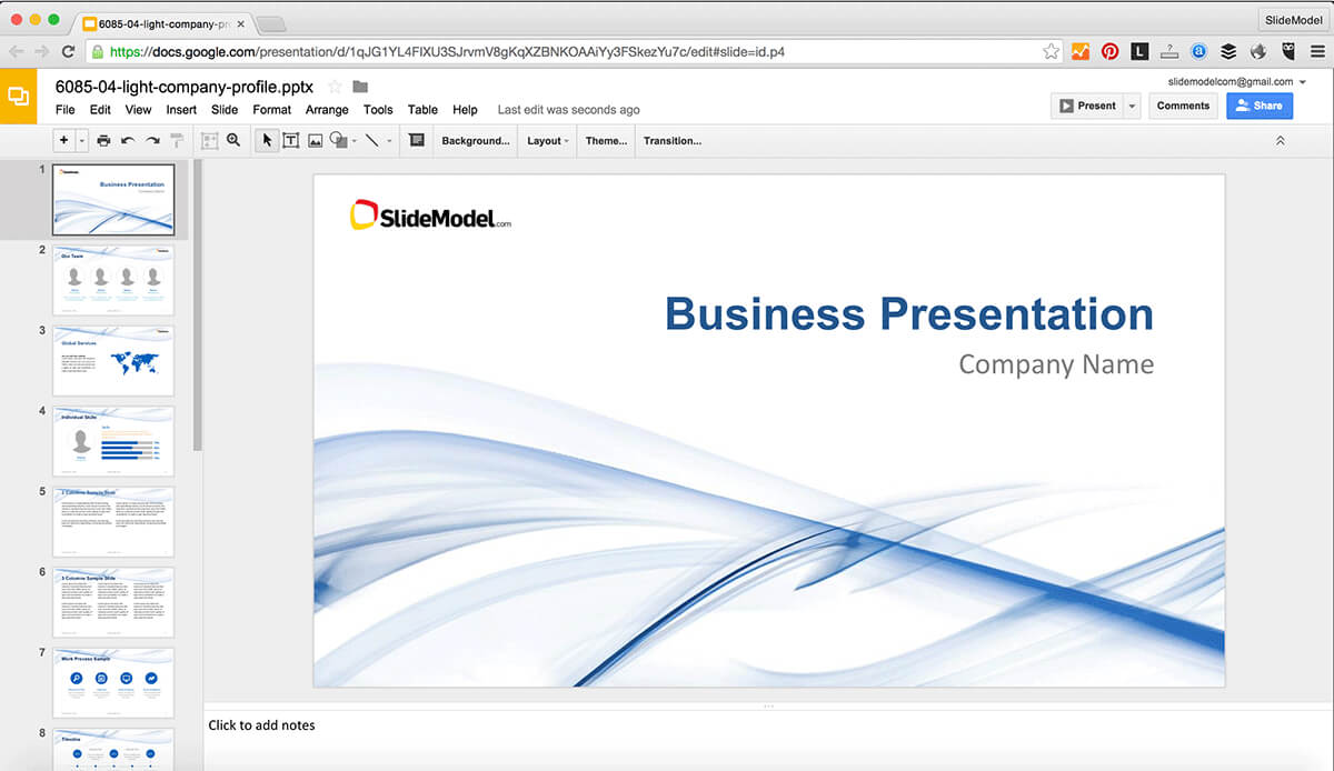 How To Edit Powerpoint Templates In Google Slides - Slidemodel Inside How To Edit A Powerpoint Template