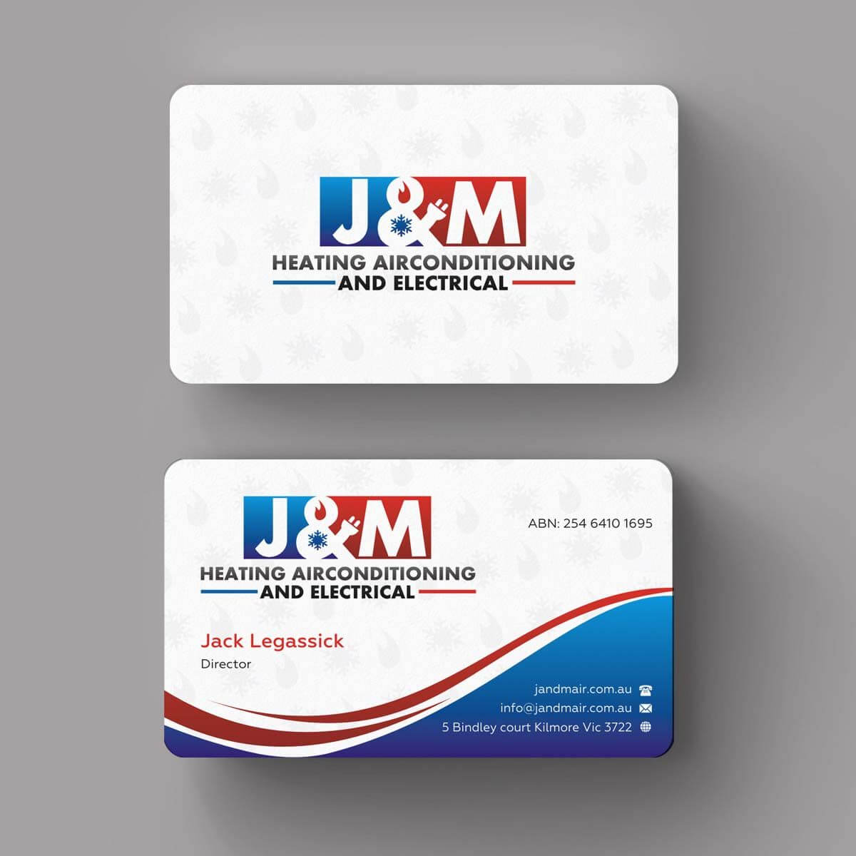Image Result For Business Card Ideas For Hvac And Electrical In Hvac Business Card Template
