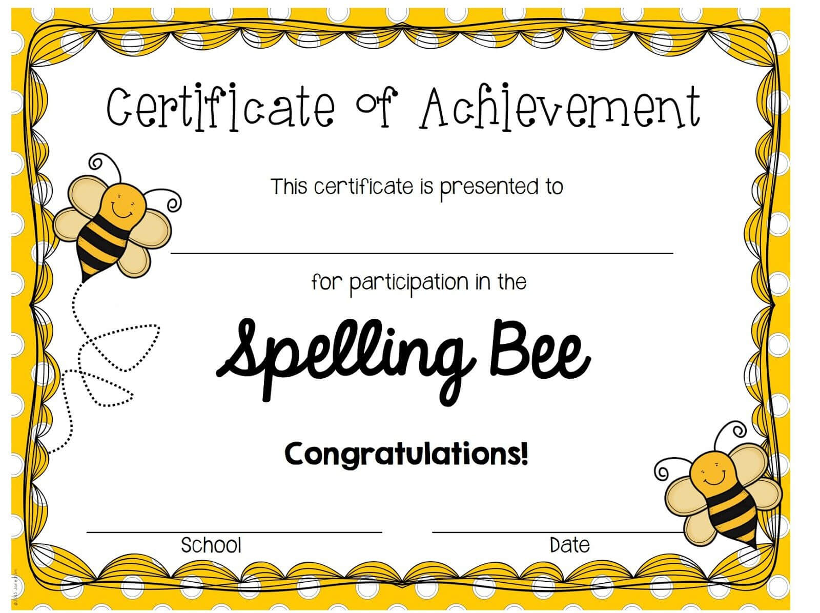 Imagine That!: Search Results For Spelling Bee | Spelling Intended For Spelling Bee Award Certificate Template