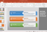 Info Tabs Powerpoint Template – Fppt Inside Powerpoint Replace Template