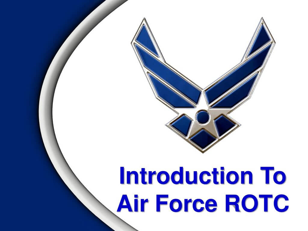Introduction To Air Force Rotc - Ppt Download With Regard To Air Force Powerpoint Template