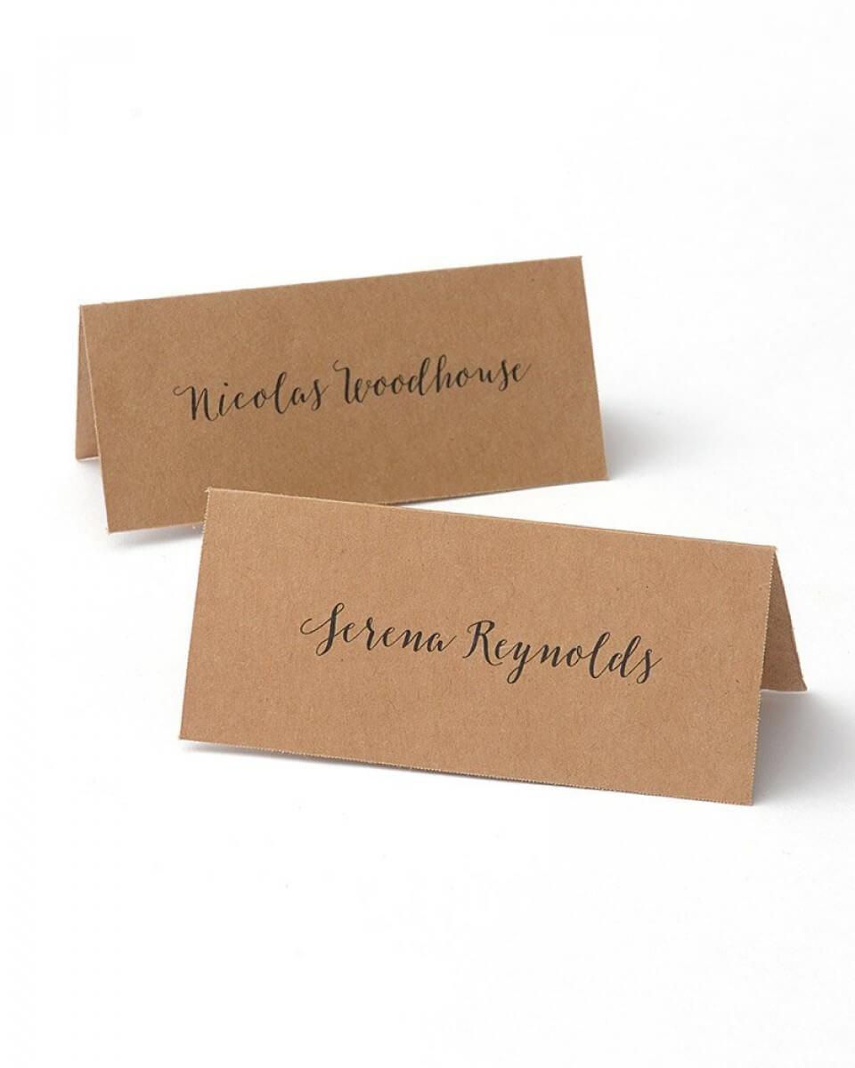 Kraft Printable Place Cards With Regard To Gartner Studios Place Cards Template