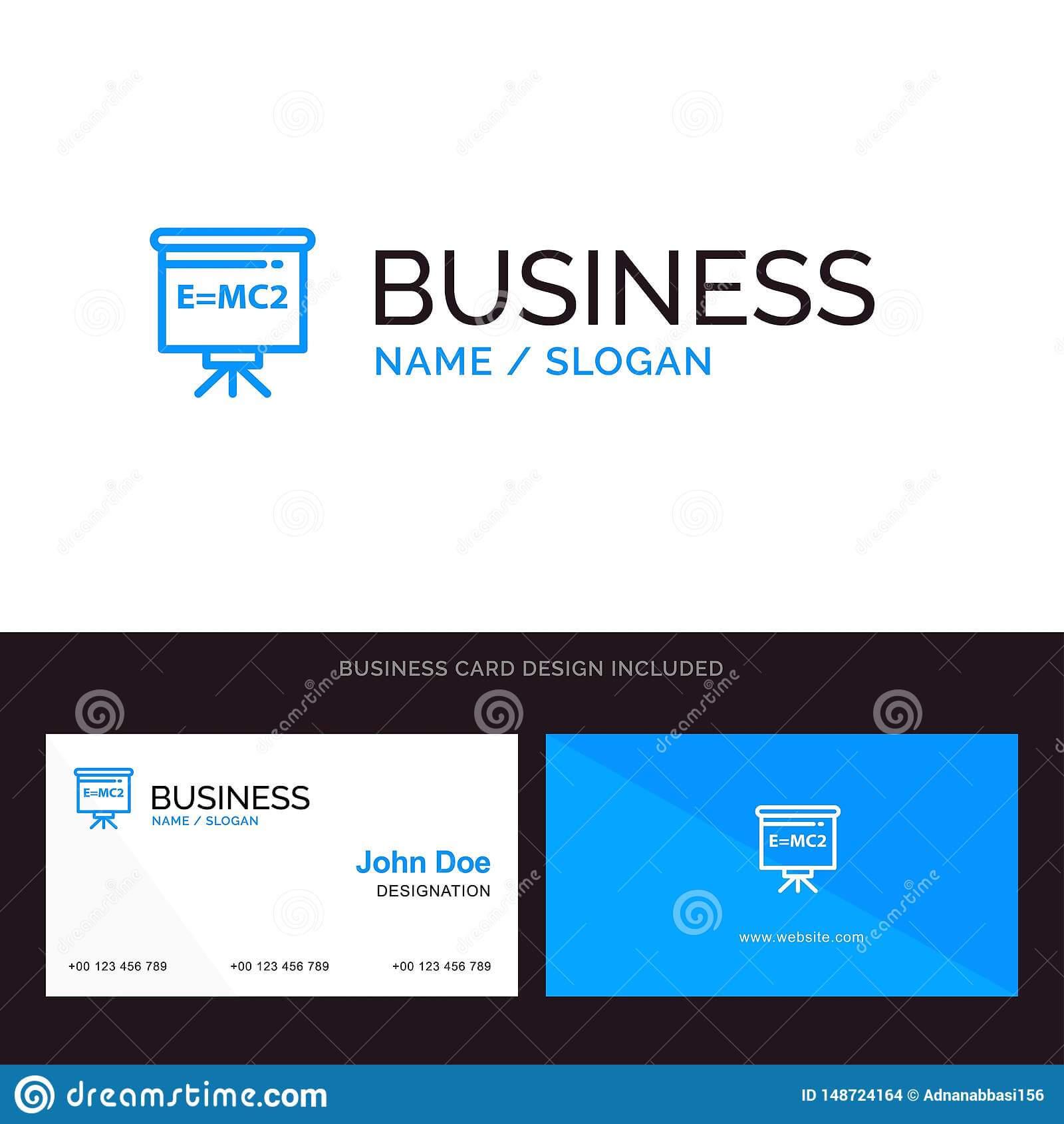 Logo And Business Card Template For Classroom, Teacher Pertaining To Teacher Id Card Template