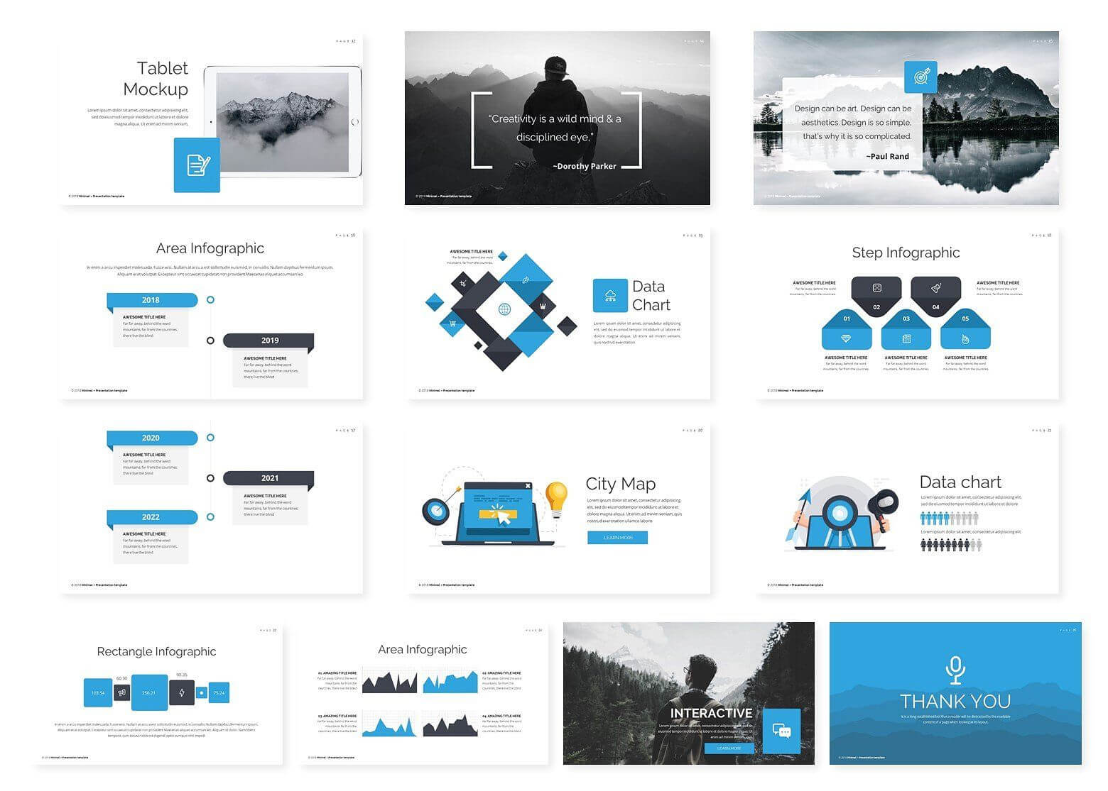 Mountain – Google Slides Template #image#replace#change For Powerpoint Replace Template